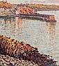 Arthur K. Maderson (b.1942) Point of Sunset, Glandore, West Cork