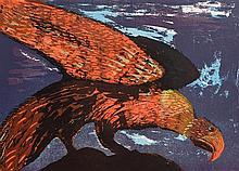 Chris Reid (1918-2006) The Watchers