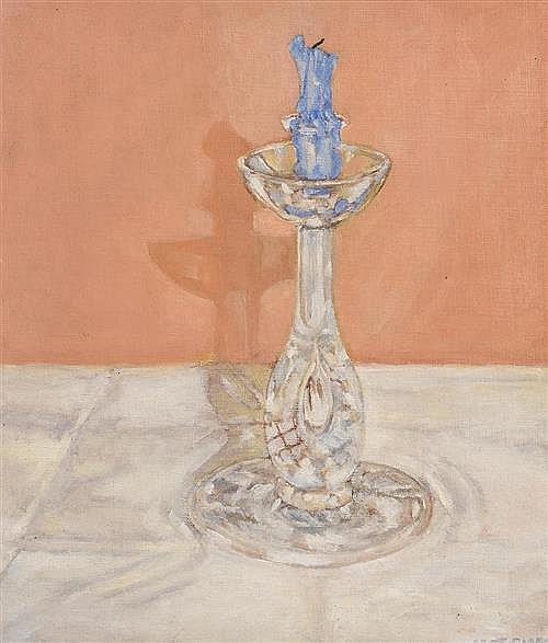 Marjorie Fitzgibbon RHA (20th/21st Century) Still Life - Candlestick