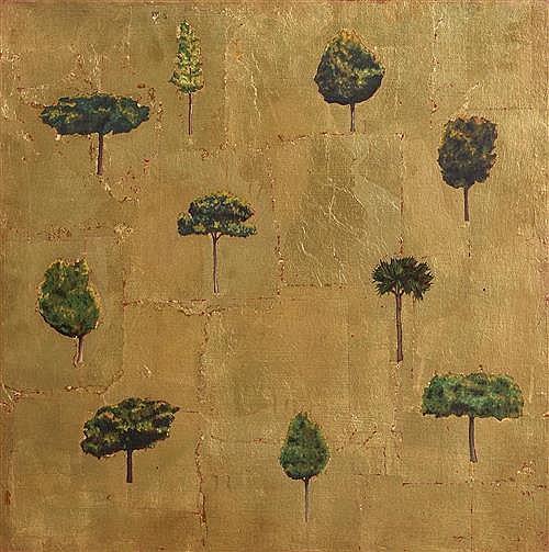 Blaise Drummond (b.1967) Irish Trees of the Suburbs (1996)