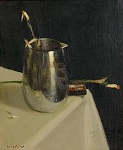 James English ARHA (b.1946) Composition With Paint Box
