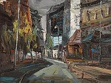 Stuart Williams (20th/21st Century) Montmarte, Evening