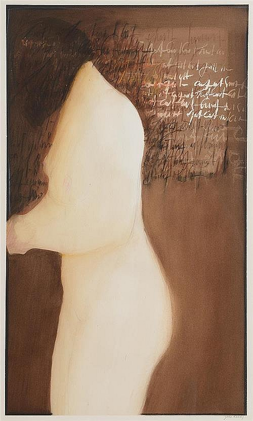 John Kelly RHA (1932-2006) Figure with Letter IX