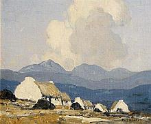 Paul Henry RHA (1876-1958) In the Western Mountains (c.1934-9)