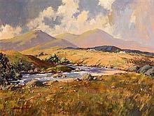 George K. Gillespie RUA (1924-1996) Shimna River, Kingdom of Mourne