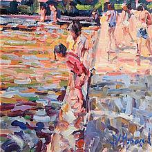 Arthur K. Maderson (b.1942) Evening, Lismore River Pool