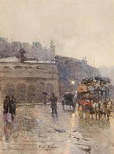Rose Maynard Barton RWS ASWA (1856-1929) The Rotunda Rooms, Dublin (1900)