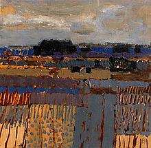 Colin Middleton RUA RHA (1910-1983) Fields: Lough Braden (1979)