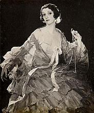 Sir John Lavery RA RHA RSA (1856-1941) Portrait of Hazel Lavery