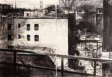 Donald Teskey RHA (b.1956) Amtrak Drawing No.1 (Bridge & Tunnel People) (2007)