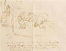 Jack Butler Yeats RHA (1871-1957) Two Dublin Debutantes, Close to O''Connell Bridge, Dublin
