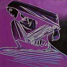 Andy Warhol (1928-1987) British Martha Graham: Lamentation (1986)