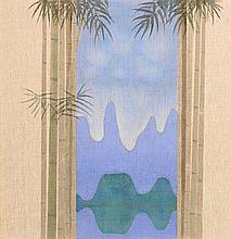 Patrick Scott HRHA (1921-2014) Guelin - Bamboo