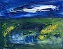 Sean McSweeney HRHA (b.1935) Shoreline Bog (1992)