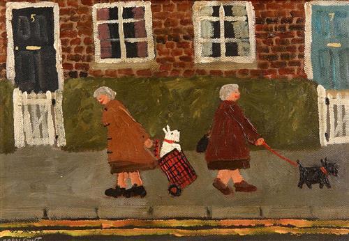 Gary Bunt (b.1957) British Good Morning Doris (2007)