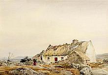 Frank J. Egginton RCA (1908-1990) Bringing Home the Turf, Connemara