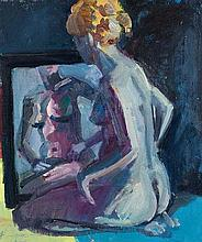 Brian Ballard RUA (b.1943) Model With Red Hair (2015)