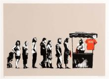 Banksy (b.1974) British Festival (2006)