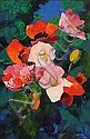 Kenneth Webb RWA FRSA RUA (b.1927) Flowers in Bloom oil on canvas