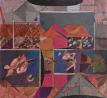 Gene Lambert RHA (b.1952) Abstract