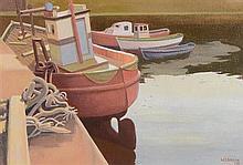 William Carron ARHA (b.1930) The Receeding Tide, Slade Harbour, Co. Waterford
