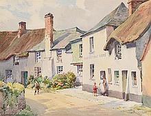 Leonard Gordon Andrews (1885-1960) Stokenham near Torr Cross