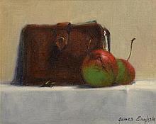 James English ARHA (b.1946) Crab Apples and Wallet