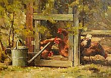 Mark O'Neill (b.1963) The Chicken Coup