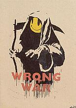 Banksy (20th/21st Century) British Wrong War (from Pax Brittanica: A Hellish Place)