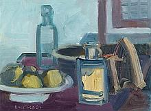Brian Ballard RUA (b.1943) Still Life with Iron