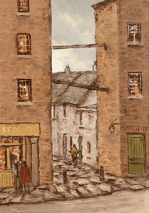 Tom Cullen (1934-2001) Copper Alley Off Lord Edward St, Dublin