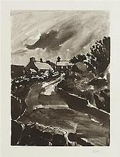 Kyffin Williams (1918-2006) Welsh The Country Road