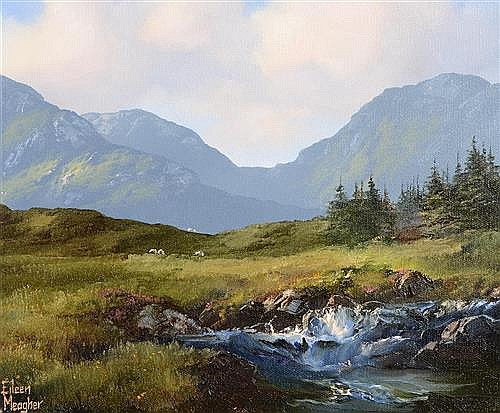 Eileen Meagher (20th/21st Century) Mountain Stream