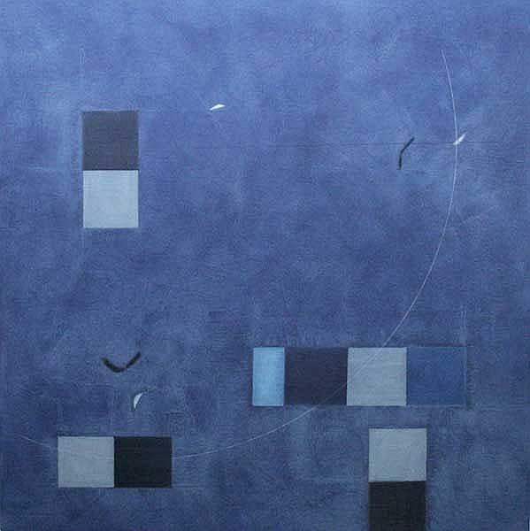 Felim Egan (b.1952) Untitled oil on canvas signed