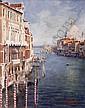 Matt Grogan (20th/21st Century) Venice oil on, Matt Grogan, Click for value