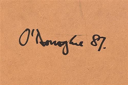 Hughie O Donoghue Ra B 1953 Fabric Of Memory Ii Study Iii