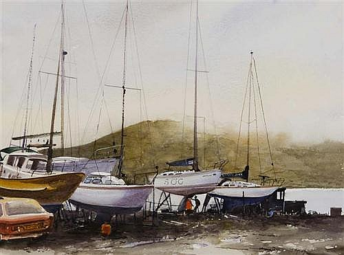Joe Hynes (20th/21st Century) Carlingford, Co. Louth