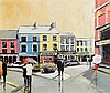 Holly Hanson (20th/21st Century) The Square, Skibbereen, Holly Hanson, Click for value