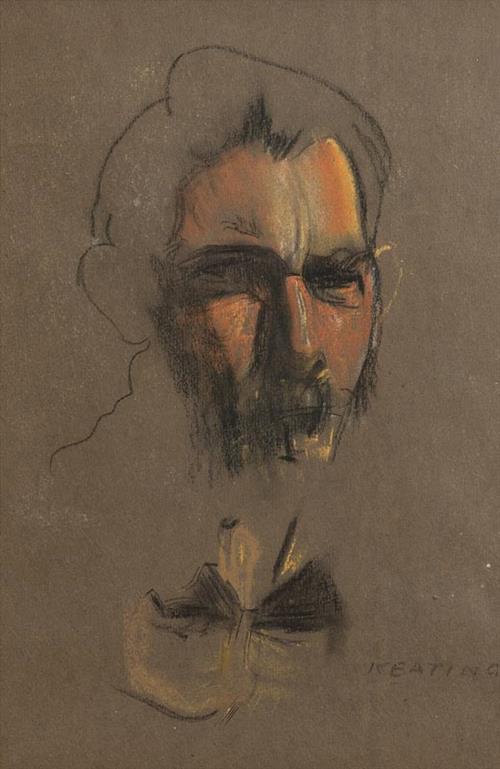Sean Keating PRHA HRA HRSA (1889-1977) Self Portrait