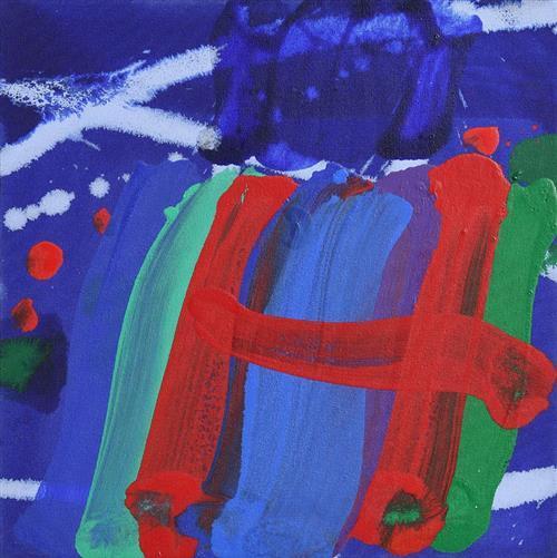Albert Irvin RA (1922-2015) British Brompton V (2001)