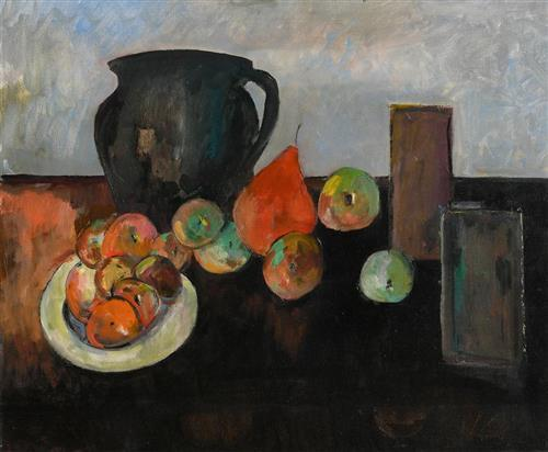 Peter Collis RHA (1929-2012) Still Life on Tabletop
