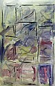 John Desmond (b.1950) Window Series acrylic on, John Desmond, Click for value