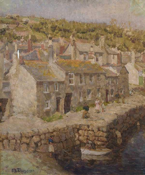 Mary Duncan (1885-1964): A View of Mouse Hole,