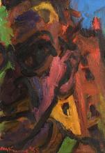 Michael Kane (b.1935) Self Portrait (1988)