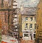 AIDEN BRADLEY (20TH/21ST CENTURY) Streetscape, Aidan Bradley, Click for value