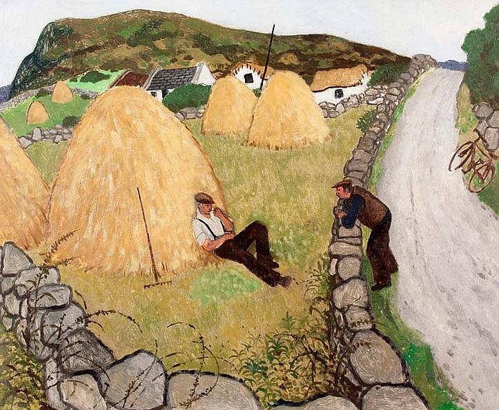 James MacIntyre RUA (b.1926)Making Hay