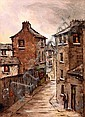 Tom Cullen (1934-2001) , Dublin Street Scene, Tom Cullen, Click for value