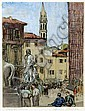 Dorothy Blackham (1896-1975) , Italian Scene, Dorothy Isabel Blackham, Click for value