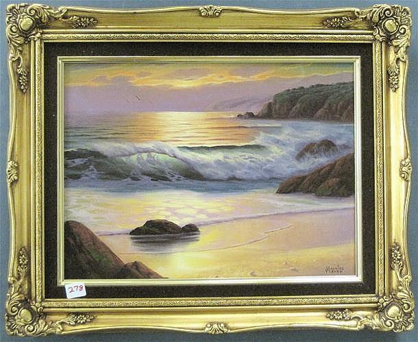 MAURICE MEYER OIL ON CANVAS (Oregon, born 1936)