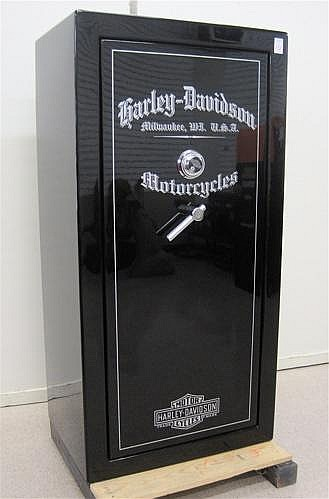 Harley Davidson Portland >> HARLEY-DAVIDSON GUN VAULT, Liberty Safe and